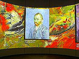 diaporama pps Nuit étoilée exposition Van Gogh