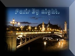 diaporama pps Paris by night