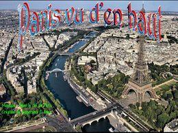 diaporama pps Paris vu d'en haut