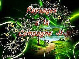 diaporama pps Paysages à la campagne II