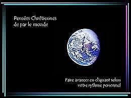 diaporama pps Pensées chrétiennes