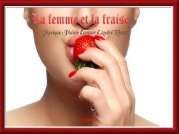 diaporama pps La femme et la fraise