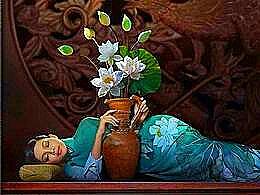 diaporama pps Peintre vietnamien Duong Quoc Dinh