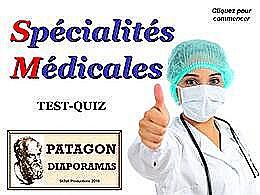 diaporama pps Quiz spécialités médicales