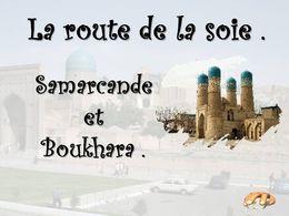 diaporama pps Samarcande et Boukhara