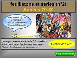 diaporama pps Séries et feuilletons 70-80 bis