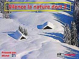 diaporama pps Silence la nature dort 2