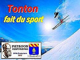 diaporama pps Tonton fait du sport