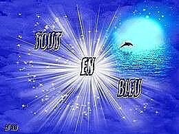 diaporama pps Tout en bleu
