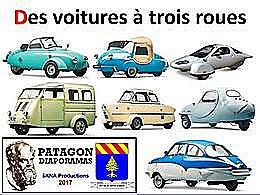 diaporama pps Des voitures à trois roues