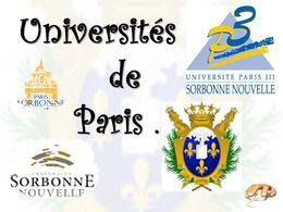 diaporama pps Universités de Paris