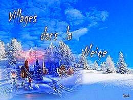 diaporama pps Villages dans la neige