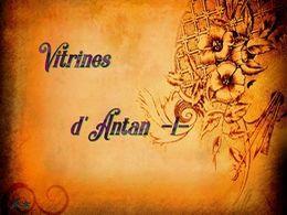 diaporama pps Vitrines d'antan I