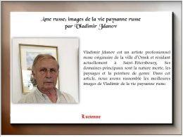 diaporama pps Vladimir Jdanov artiste russe