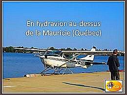 diaporama pps Vol en hydravion au Québec