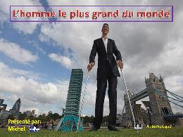 L'homme le plus grand du Monde