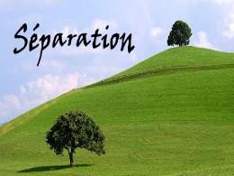 Séparation