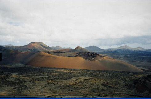 Volcans de Lanzarote