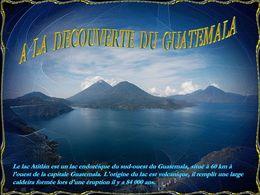 diaporama pps A la découverte du Guatémala