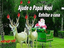diaporama pps Ajude o Papai Noel enfeitar a casa