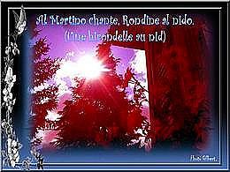 diaporama pps Al Martino chante Rondine al Nido