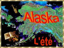 diaporama pps Alaska pendant l'été