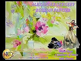 diaporama pps Alexander Sergeev russian painter
