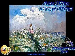 diaporama pps Alexi Zaitsev 1959 russian painter