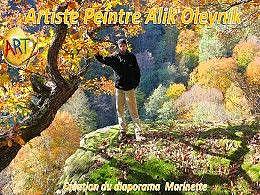 diaporama pps Alik Oleynik artiste peintre des montagnes