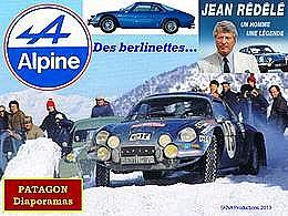 diaporama pps Alpine et les berlinettes