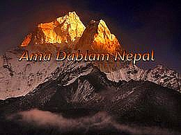 diaporama pps Ama Dablam Népal