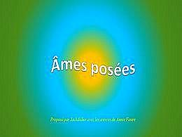 diaporama pps Ames posées