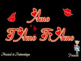diaporama pps Amo T'amo Ti Amo