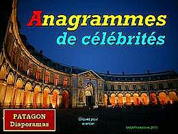 diaporama pps Anagrammes célébrités