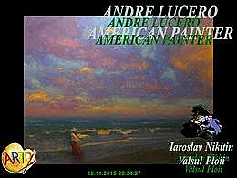 diaporama pps Andre Lucero american painter