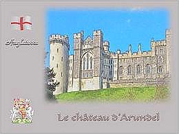 diaporama pps Le château d'Arundel – Version française