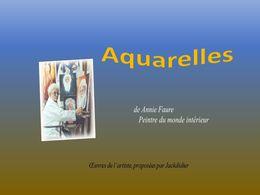 diaporama pps Aquarelles