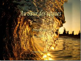 diaporama pps Au coeur des vagues