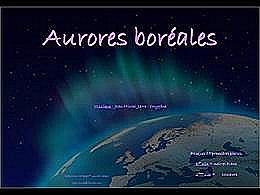 diaporama pps Aurores boréales