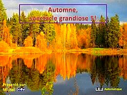 diaporama pps Automne spectacle grandiose 5