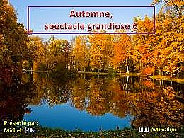 diaporama pps Automne spectacle grandiose 6