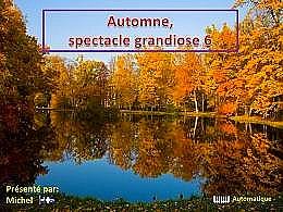 diaporama pps Automne spectacle grandiose 6