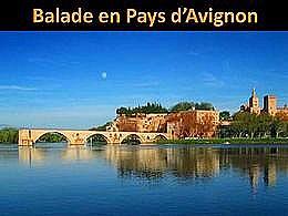 diaporama pps Balade en pays d'Avignon