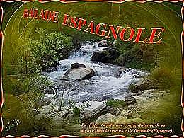 diaporama pps Balade espagnole