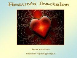 diaporama pps Beautés fractales