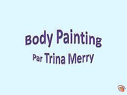 diaporama pps Body painting par Trina Merry