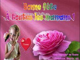 diaporama pps Bonne fête à toutes les Maman