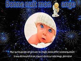 diaporama pps Bonne nuit mon ange