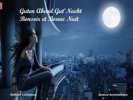 diaporama pps Bonsoir et bonne nuit Guten Abend Gute Nacht