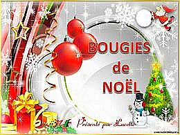 diaporama pps Bougies de Noël